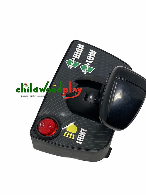 Gear stick panel for Kids Ride on Tractor