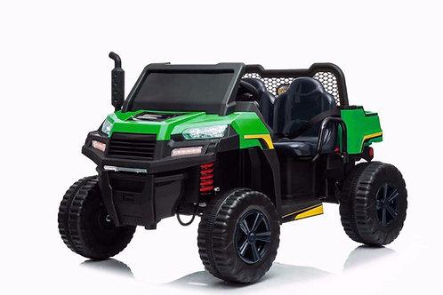 24v Kids Electric Ride on Farm Tipper Jeep - 4 Wheel Drive