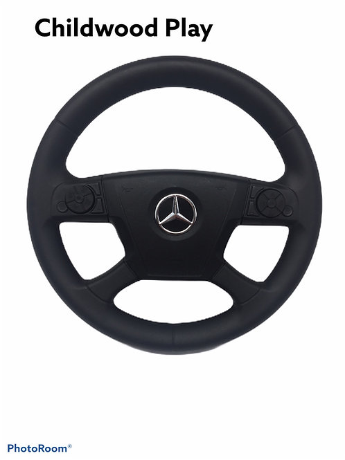 Steering whee for kids Ride on Mercedes Lorry