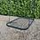 Thumbnail: Rectangular nest basket swing seat for climbing frame Black
