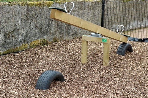 Wooden Seesaw - Flat Pack