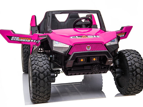 24v Clash XL Ride on Buggy - 4 Wheel Drive PINK