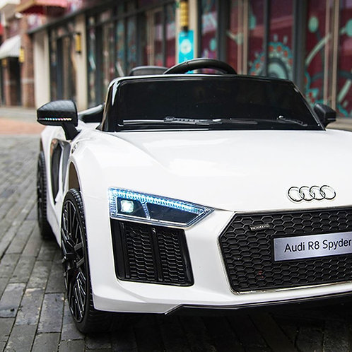 Audi R8 Spyder (12V) New 2019 Licensed Kids Ride on Electric Car with Remote