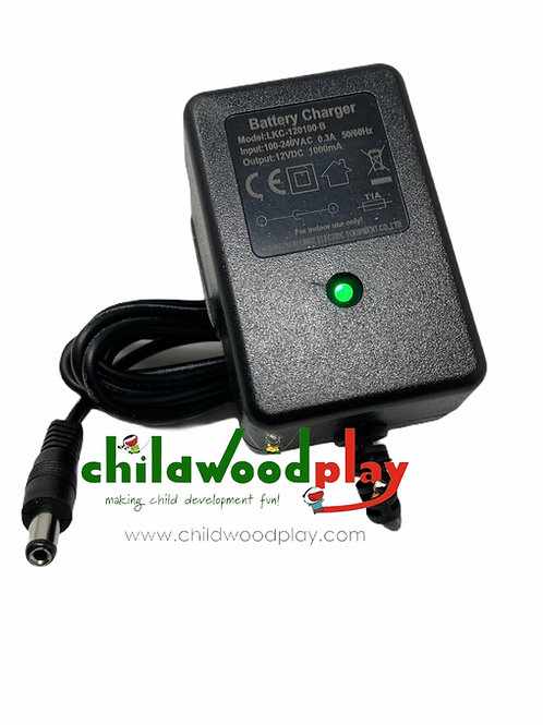 Universal Spare 1 Pin Charger for 12V Ride on Toys