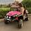 Thumbnail: Renegade Maverick  24v Child's Electric Ride On UTV - Red