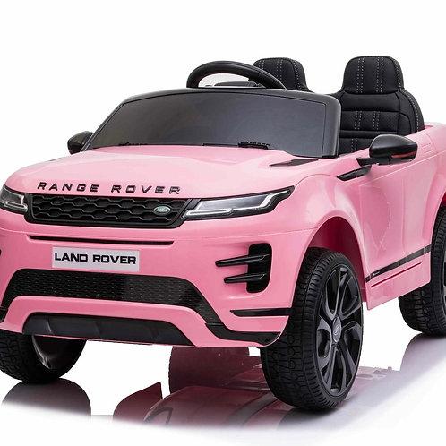 12v Licensed Range Rover Evoque Ride on Jeep 4 Wheel Drive - Pink