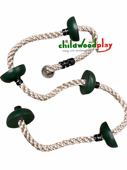 Knotted Climbing Rope 2m long