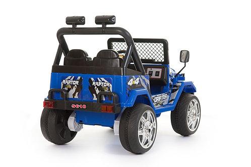 12v 2 Seater 4x4 Truck (Blue)