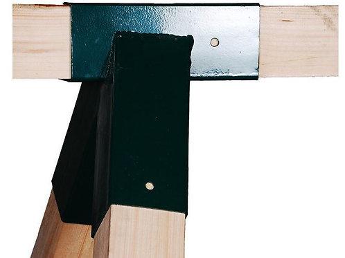 Swing corner bracket