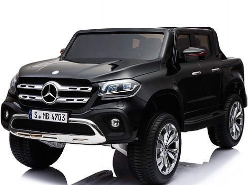 Mercedes - Benz X-Class 24v Kids Electric Ride on Jeep 4WD Rubber Wheels (Black)