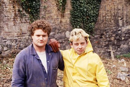 Mick Reid & Terry Waldron. 23/3/88
