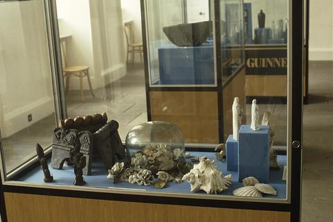 Exhibition: miscellaneous grave decorations.  5/5/88