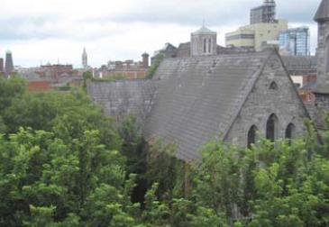 St James's Church Overgrown