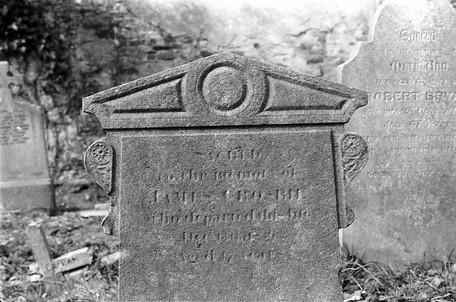 Headstone of John Crosbie