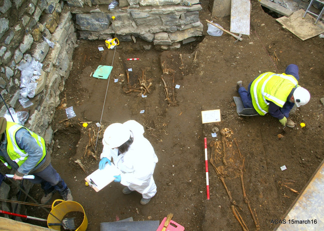 Excavation St James