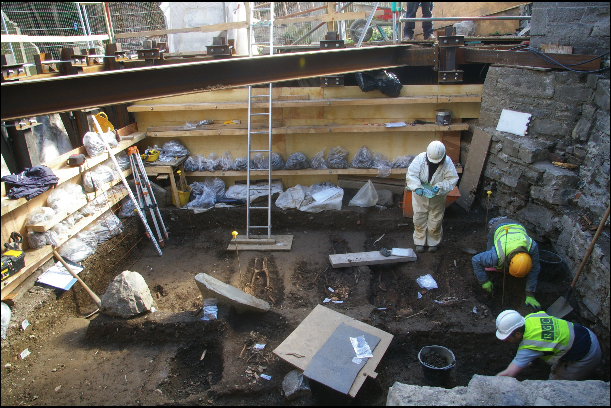 Excavations at St James