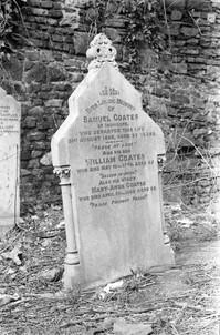 Headstone of the Coates family