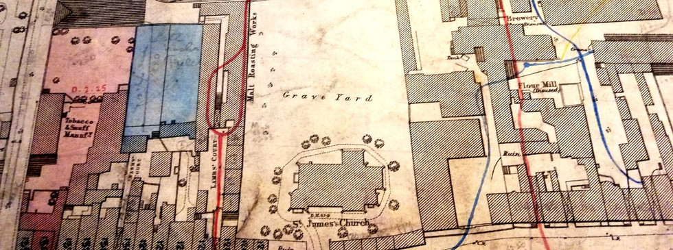 Extract from OS Survey Map 1889