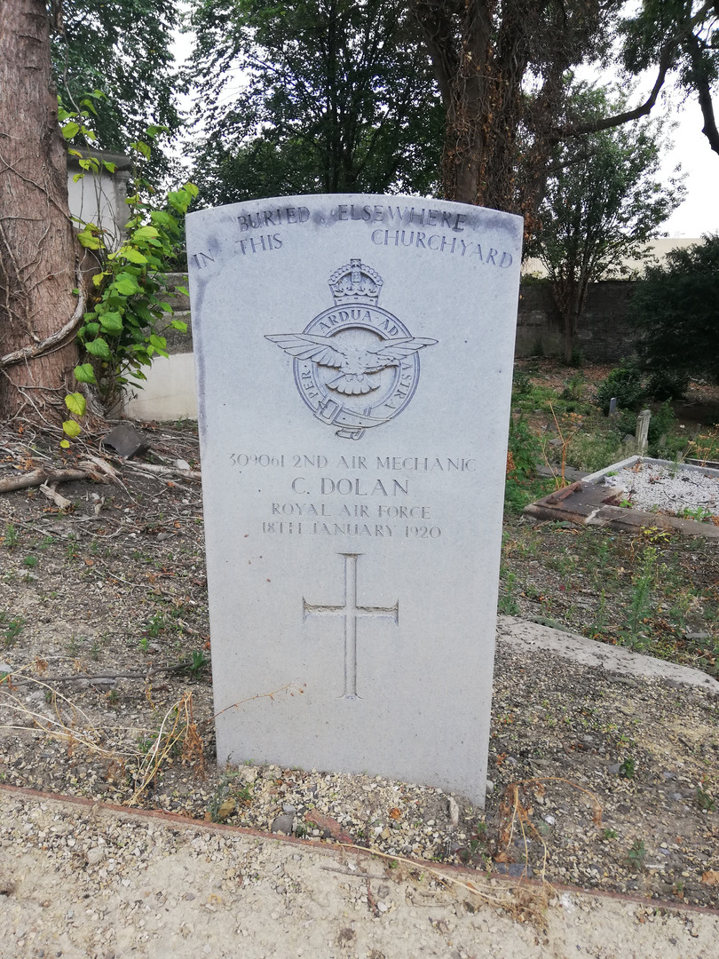 Special Memorial to the memory of Air Mechanic 2nd Class Christopher Dolan
