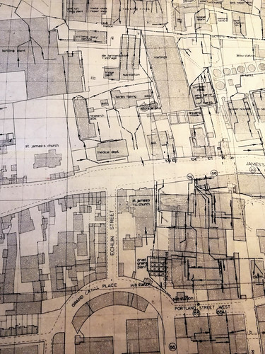 Technical Drawing for St James's Gate Brewery c.1960s