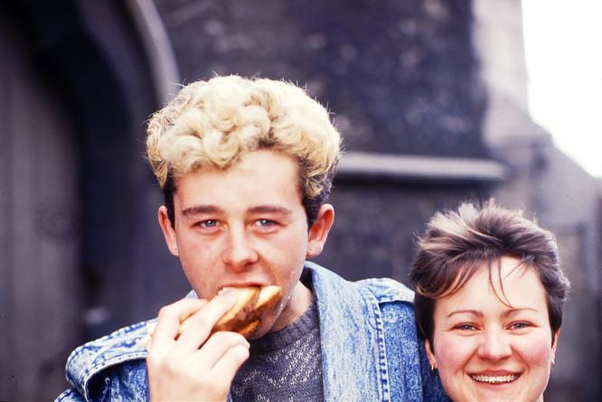 Terry Waldron & Cathy Quinn. 23/3/88
