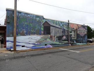 Coheelee Creek Mural