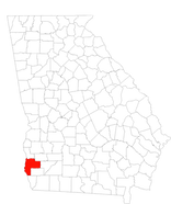 Georgia Counties Map