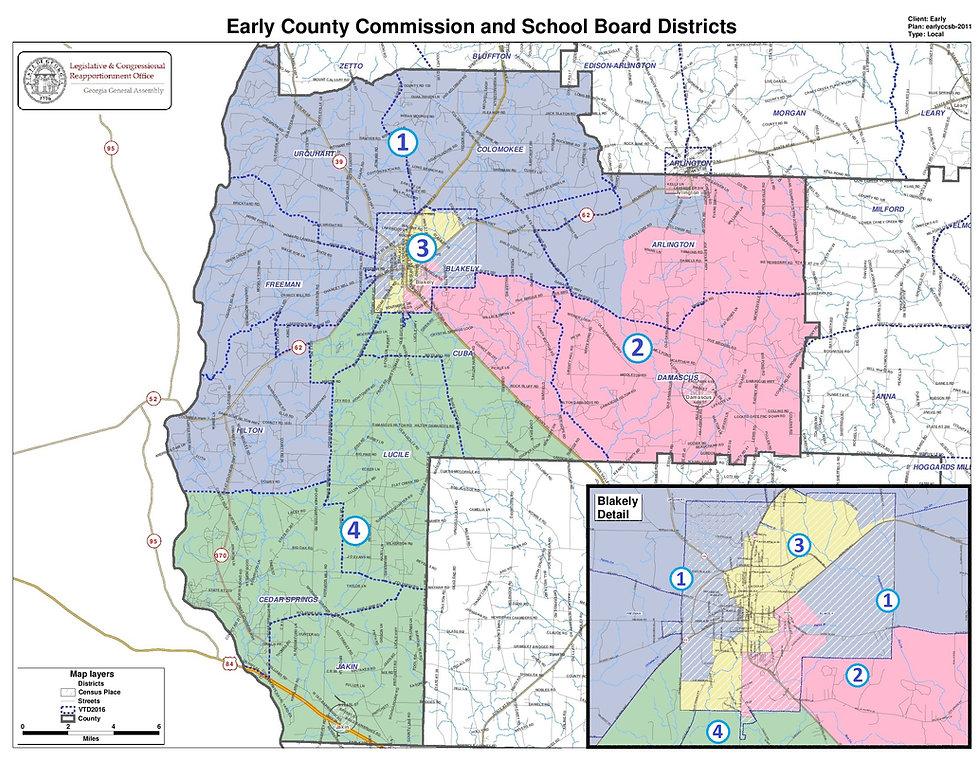 EC Elections District Map
