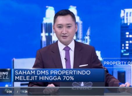 Saham DMS Propertindo Melejit Hingga 70%