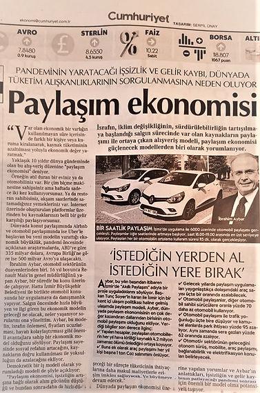 Cumhuriyet Gazetesi - Jale Özgentürk 17.