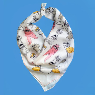 Wild Ones silk scarf