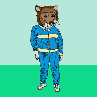 Track Suit Bear animation