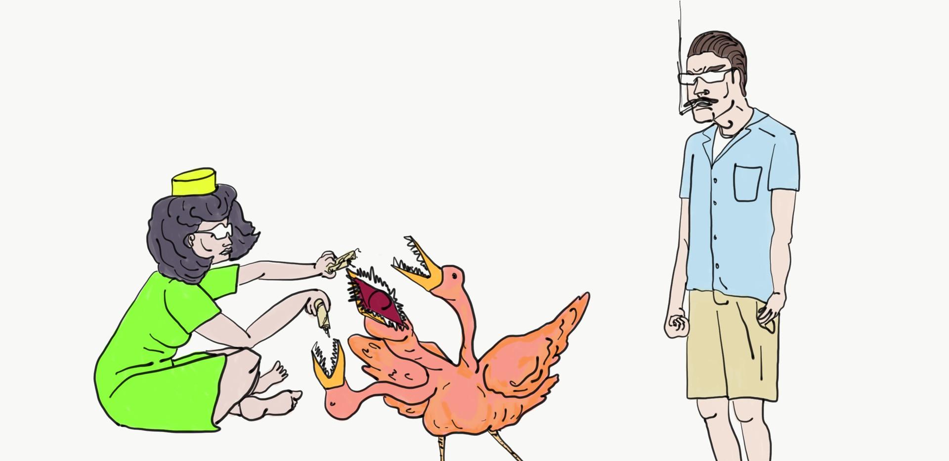 Ruff bird world