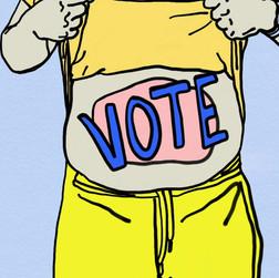 Vote animation