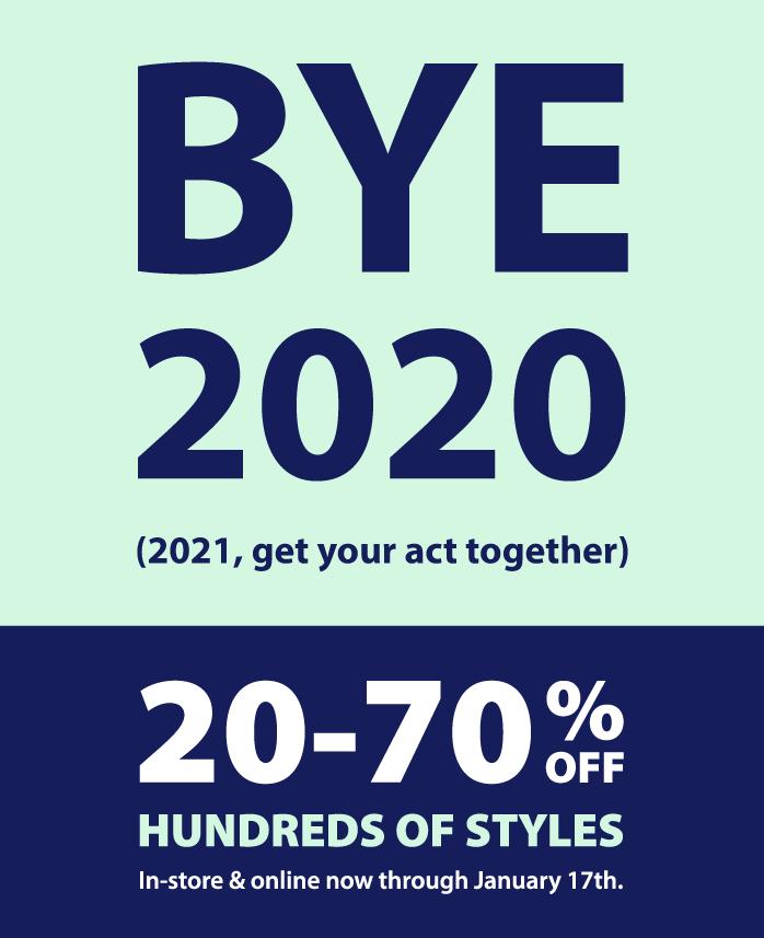 January 2021 Sale