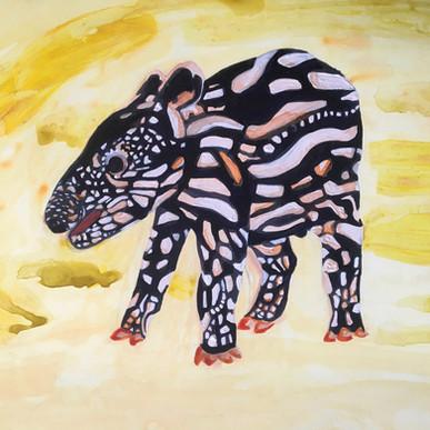 Lil Tapir Painting 2020