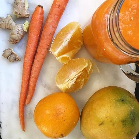 Immune Boosting Orange Smoothie
