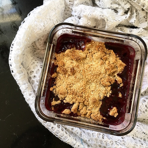 Berry or Apple Crumble