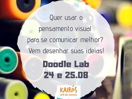 Vem pro Doodle Lab: nosso laboratório de pensamento visual