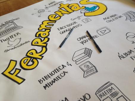 Sabia que o registro visual reforça o trabalho e o aprendizado coletivo?