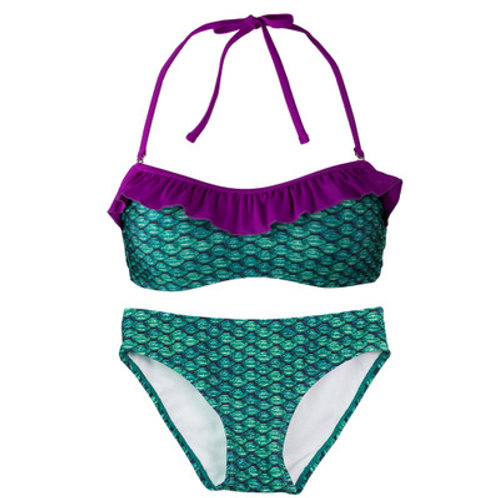 Adult Celtic Green Bandeau Bikini