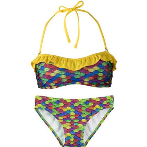 Adult Rainbow Reef Bandeau Bikini