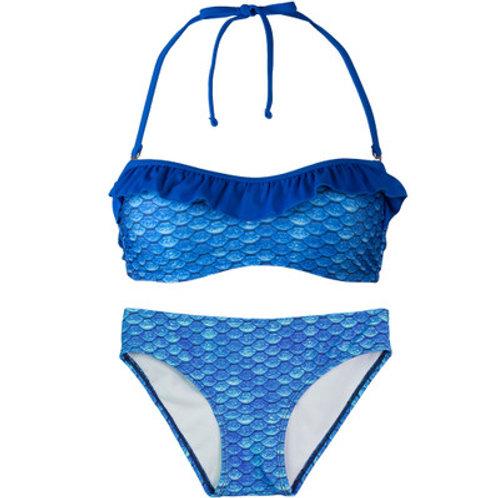 Youth Arctic Blue Bandeau Bikini