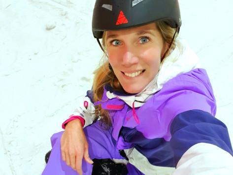 Nooit gedaan dus doen: Proeflesje snowboarden in de Rucphense Alpen