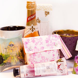 Bridal products to give to family members or put in bridal boxes