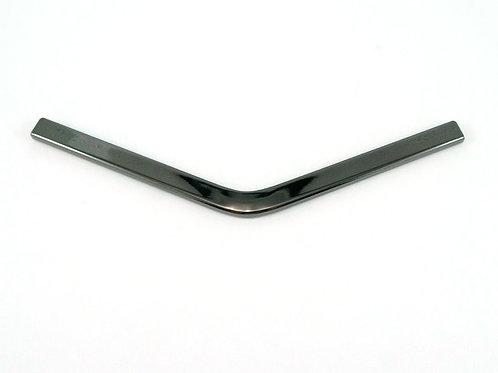 Metal Edge Trim: Style B - Medium Pointed -Gunmetal - Emmaline Bags