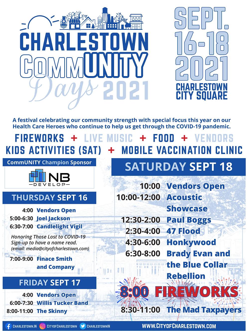 Charlestown Community Days 2021