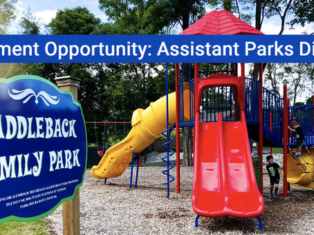 Employment Opportunity: Assistant Parks Director (Full-Time)