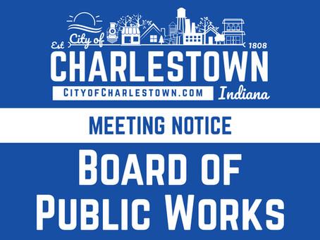 Charlestown Board of Public Works Meeting, 8/4/2021