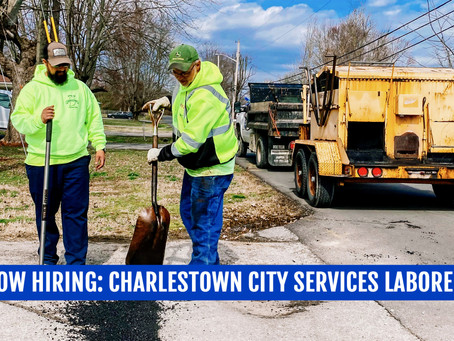 Now Hiring: City Services Laborer (2) - Full Time